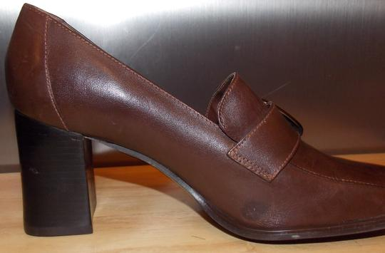 Bruno Valenti Brown Pumps Image 4