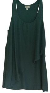 Silence + Noise short dress Forest Green on Tradesy