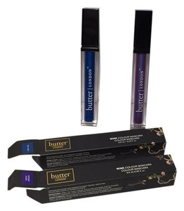 butter London WINK COLOUR MASCARA SET OF 2 NEW