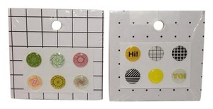 Kate Spade Kate Spade IPHONE BUTTON STICKERS SET OF 12 NEW
