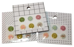 Kate Spade IPHONE BUTTON STICKERS Set Of 6 NEW