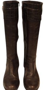 Naturalizer Riding Boot Extended Calf Brown Boots
