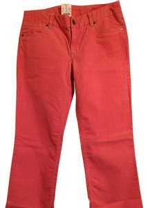 J.Crew Straight Pants Coral per j crew but more of pink