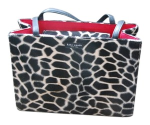 Kate Spade Tote in Black and White Print