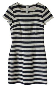 Esprit short dress Cap-sleeve Striped Cotton on Tradesy