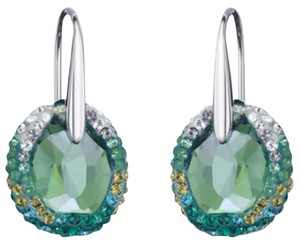 c26fbb0a8 Swarovski NEW Swarovski Green Hyacinth Crystal Pierced Earrings, Free Ship