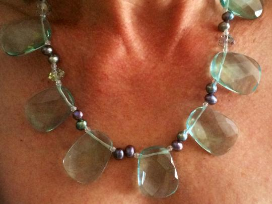 Other Crystal and Pearl Necklace