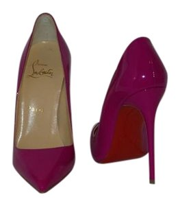 Christian Louboutin Brand New In Box FUSCHIA PINK Pumps