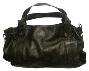 GERARD DAREL Patent Leather Made In France Satchel in Black