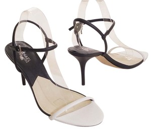 Michael Kors Black/White Sandals