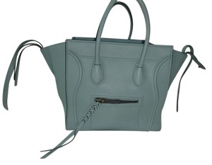 Céline Tote in Baby Blue