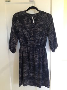 Trinity short dress Black 3/4 Sleeve on Tradesy