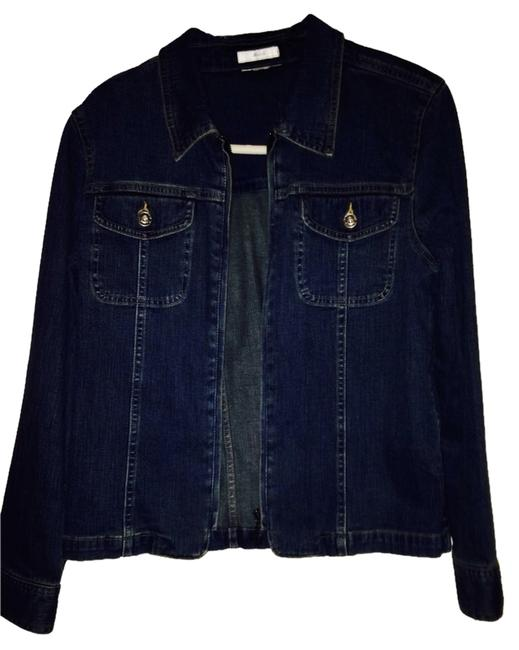 Christopher & Banks Denim Womens Jean Jacket