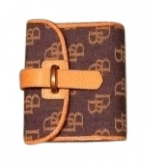 Preload https://item4.tradesy.com/images/dooney-and-bourke-denim-with-tan-logo-and-tan-leather-trim-wallet-18183-0-0.jpg?width=440&height=440
