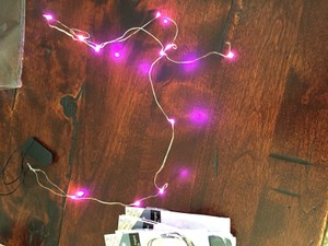 Pink Fairy Lights- Set Of 7