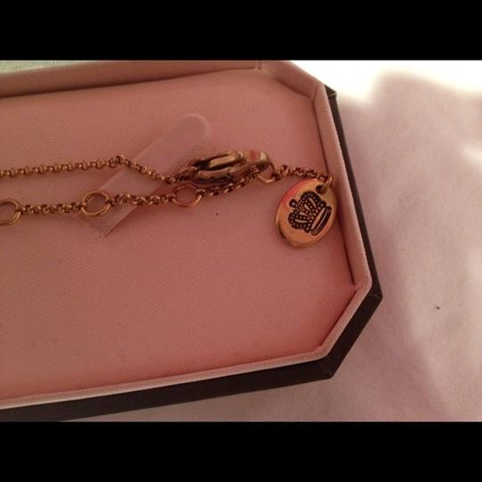 Juicy Couture Pave Lock Necklace