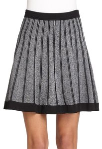 A.L.C. Mini Knit Elasticized A.l.c. Mini Skirt black and grey