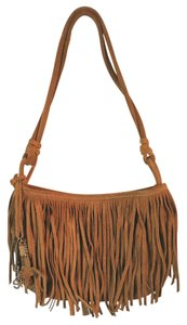 American Eagle Outfitters Boho Suede Fringed Hobo Bag