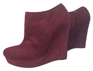 Forever 21 BURGUNDY Boots