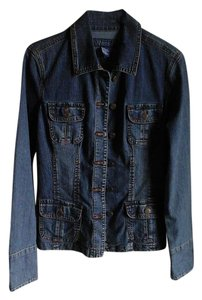 Baccini Blue, darker than lighter Womens Jean Jacket