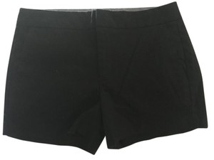 Banana Republic Cotton Cuffed Shorts Black