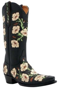 Old Gringo Embellished Cowboy Unique Black Boots