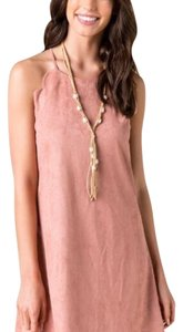 Francesca's short dress Blush on Tradesy
