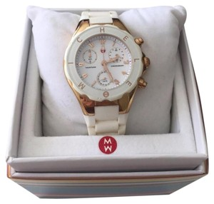 Michele Tahitian Rose Gold Jelly Watch