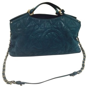 Chanel Satchel in Dirty Turquoise