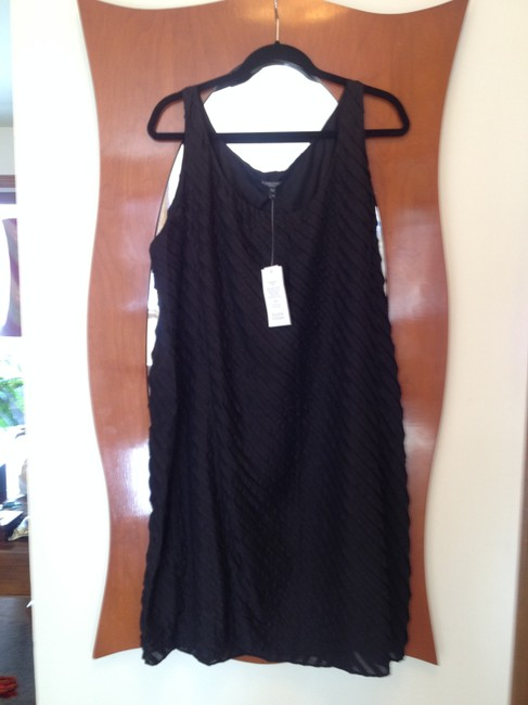 Preload https://item4.tradesy.com/images/eileen-fisher-black-above-knee-cocktail-dress-size-16-xl-plus-0x-1818618-0-0.jpg?width=400&height=650