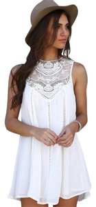 White Maxi Dress by Boho Chic