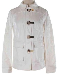 Tory Burch White Gold Jacket
