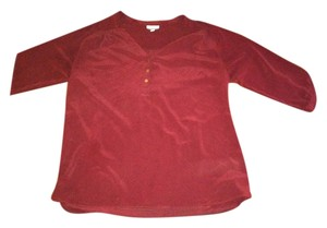 A Pea In The Pod Pea in the Pod maroon blouse