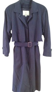 London Fog Trench Lined Heavy Petite Trench Coat