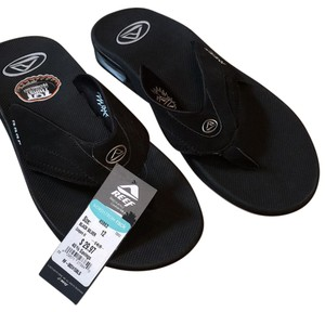 Reef Black and silver Sandals