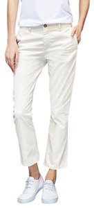 Gap Crop Kick Cropped Blend New Light Capri/Cropped Pants Snow Cap