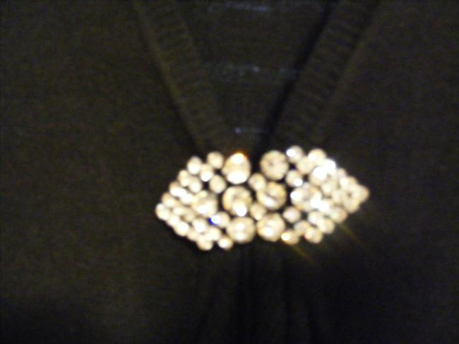 """Other Stunning """"blinged"""" Christina Sweater"""