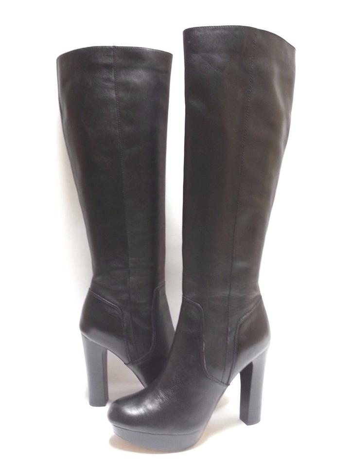 d69a315e9108 Michael Kors Black Lesly Boots Booties Size US 8.5 Regular (M
