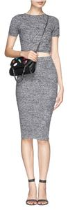 Alice + Olivia short dress Gray Dvf Tory Burch on Tradesy