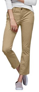 Gap Crop Kick Cropped Capri/Cropped Pants Mission Tan