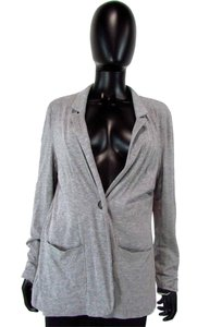 Vince Camuto Long Sleeve One Button Gray Blazer