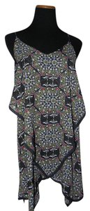 Free People short dress Multi-colored Boho on Tradesy