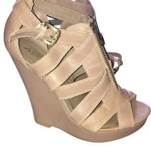 ALDO Tan Wedges