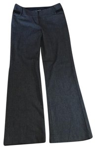 Express Flare Pants Black and gray