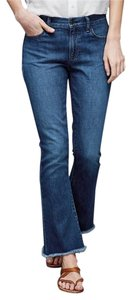 Gap 1969 Cotton Denim Flare Leg Jeans-Medium Wash