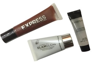 Glamglow primer, lip gloss and glamglow cleanser