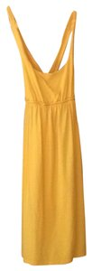 Massimo short dress yellow on Tradesy