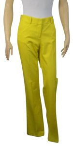 Theory Boot Cut Pants YELLOW