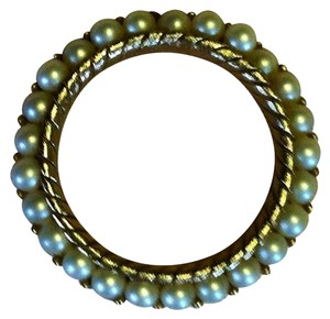 Trifari TRIFARI Gold-Tone Circle of Faux Pearls