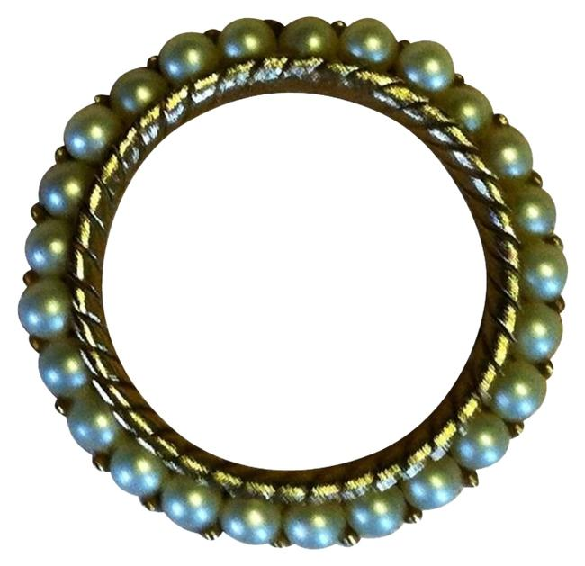 Trifari Gold Tone Circle Of Faux Pearls Trifari Gold Tone Circle Of Faux Pearls Image 1